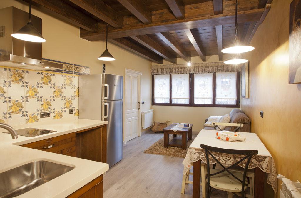 Apartamento Venceyal - salón cocina 2