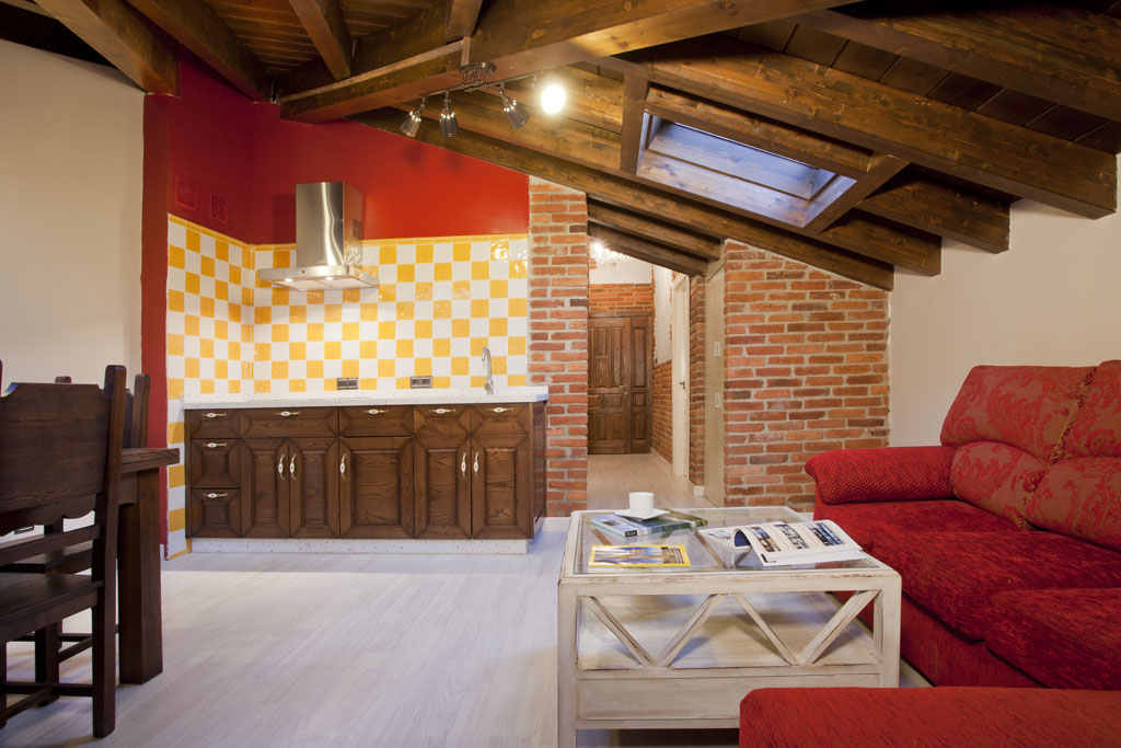 Apartamento - Suite Muñón Cimero - salón cocina vista 2